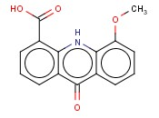 5-Methoxy-9-oxo-9,10-dihydroacridine-4-carboxylic acid ( 88377-31-5 )