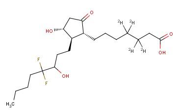13,14-DIHYDRO-15(R,S)-HYDROXY-16,16-DIFLUORO PROSTAGLANDIN E1-D4