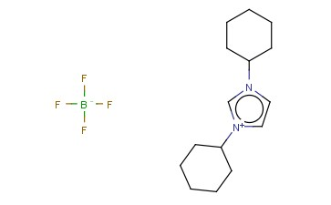 1,3-DICYCLOHEXYLIMIDAZOLIUM <span class='lighter'>TETRAFLUOROBORATE</span>