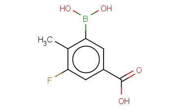 3-BORONO-5-FLUORO-4-METHYLBENZOIC ACID