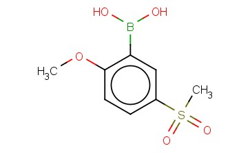 B-[2-METHOXY-5-(METHYLSULFONYL)PHENYL]-BORONIC ACID