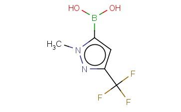1-METHYL-3-TRIFLUOROMETHYLPYRAZOLE-5-BORONIC ACID
