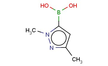 硼酸(1,3 - 二甲基-1H-吡唑-5 - 基) -