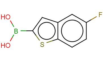 5-FLUOROBENZOTHIOPHENE-2-BORONIC ACID