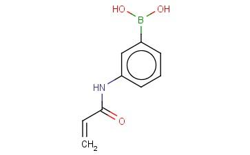 3-丙烯酰胺基苯硼酸