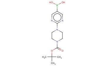 [2-(4-N-BOC-PIPERAZIN-1-YL)PYRIMIDIN-5-YL]BORONIC ACID