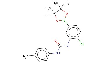 N-[2-CHLORO-5-(4,4,5,5-TETRAMETHYL-1,3,2-DIOXABOROLAN-2-YL)PHENYL]-N'-(4-METHYLPHENYL)-UREA