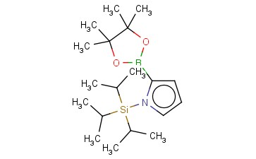 2-(4,4,5,5-TETRAMETHYL-1,3,2-DIOXABOROLAN-2-YL)-1-(TRIISOPROPYLSILYL)-1H-PYRROLE