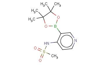 N-(3-(4,4,5,5-TETRAMETHYL-1,3,2-DIOXABOROLAN-2-YL)PYRIDIN-4-YL)METHANESULFONAMIDE