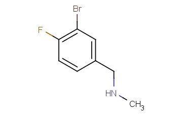 1-(3-Bromo-4-fluorophenyl)-N-methylmethanamine