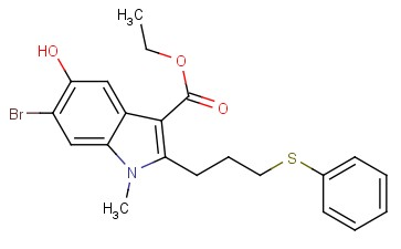 ethyl 6-bromo-5-hydroxy-1-methyl-2-(3-(phenylthio)propyl)-1H-indole-3-carboxylate