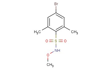 4-BROMO-N-METHOXY-2,6-<span class='lighter'>DIMETHYLBENZENESULFONAMIDE</span>