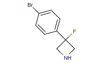 3-(4-Bromophenyl)-3-fluoro-azetidine