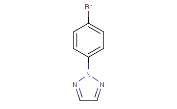 2-(4-BROMOPHENYL)-2H-<span class='lighter'>1,2,3-TRIAZOLE</span>