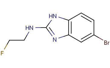 5-bromo-N-(2-fluoroethyl)-1H-benzo[d]imidazol-2-amine