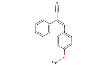 1-CYANO-1-PHENYL-2-(4-METHOXY-PHENYL)ETHYLENE