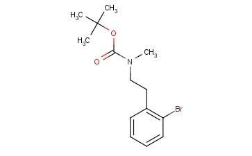 N-Boc-N-methyl-2-bromophenethylamine