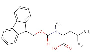 Fmoc-N-methyl-DL-leucine