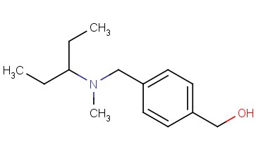 Benzenemethanol, 4-[[(1-ethylpropyl)methylamino]methyl]-