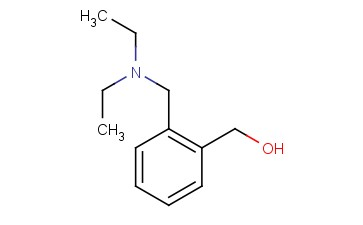 Benzenemethanol, 2-[(diethylamino)methyl]-