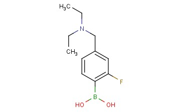 (4-((diethylamino)methyl)-2-fluorophenyl)boronic acid