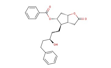 [(3aR,4R,5R,6aS)-4-[(3S)-3-hydroxy-5-phenylpent-1-enyl]-2-oxo-3,3a,4,5,6,6a-hexahydrocyclopenta[b]furan-5-yl] benzoate
