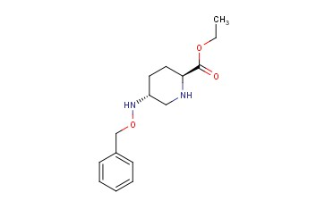 (2S,5R)-ethyl 5-(benzyloxyaMino)piperidine-2-carboxylate