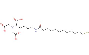 N-[NALPHA,NALPHA-BIS(CARBOXYMETHYL)-L-LYSINE]-12-MERCAPTODODECANAMIDE