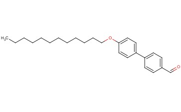 [1,1'-BIPHENYL]-4-CARBOXALDEHYDE, 4'-(<span class='lighter'>DODECYLOXY</span>)-