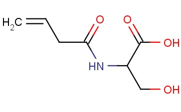 2-(BUT-3-ENAMIDO)-3-HYDROXYPROPANOIC ACID
