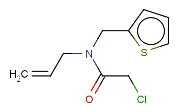 N-ALLYL-2-CHLORO-N-(THIEN-2-YLMETHYL)ACETAMIDE