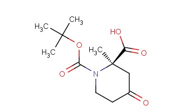 (R)-1-TERT-BUTYL 2-METHYL 4-OXOPIPERIDINE-1,2-DICARBOXYLATE