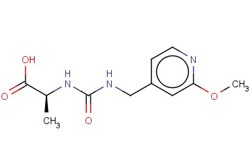 (2S)-2-(([(2-METHOXYPYRIDIN-4-YL)METHYL]CARBAMOYL)AMINO)PROPANOIC ACID