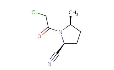 2-PYRROLIDINECARBONITRILE, 1-(CHLOROACETYL)-5-METHYL-, (2S,5S)-