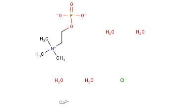 氯化磷酸胆碱钙盐四水合物