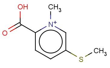 2-CARBOXY-1-METHYL-5-(METHYLSULFANYL)PYRIDINIUM