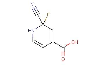 2-CYANO-2-FLUORO-1,2-DIHYDROPYRIDINE-4-CARBOXYLIC ACID