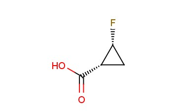 (1R,2R)-2-fluorocyclopropanecarboxylic acid