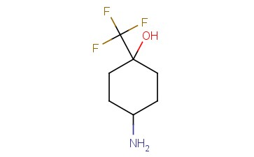4-AMINO-1-(TRIFLUOROMETHYL)CYCLOHEXAN-1-OL