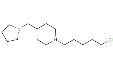 1-(5-CHLOROPENTYL)-4-(PYRROLIDIN-1-YLMETHYL)PIPERIDINE