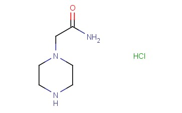 2-<span class='lighter'>PIPERAZIN-1-YLACETAMIDE</span> HYDROCHLORIDE