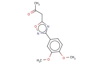 1-[3-(3,4-DIMETHOXY-PHENYL)-[1,2,4]OXADIAZOL-5-YL]-PROPAN-2-ONE