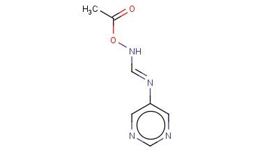METHANIMIDAMIDE, N-(ACETYLOXY)-N'-5-PYRIMIDINYL-