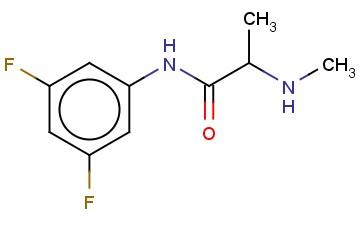 N-(3,5-DIFLUOROPHENYL)-2-(METHYLAMINO)PROPANAMIDE