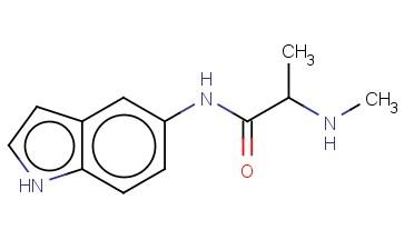 N-(1H-INDOL-5-YL)-2-(METHYLAMINO)PROPANAMIDE