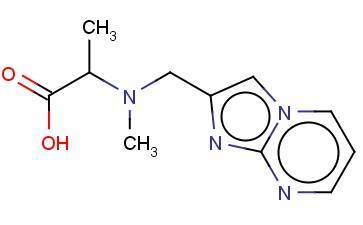 2-((IMIDAZO[1,2-A]PYRIMIDIN-2-YLMETHYL)(METHYL)AMINO)PROPANOIC ACID