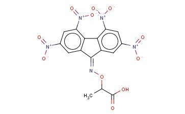 2-(2,4,5,7-TETRANITRO-9-FLUORENYLIDENEAMINOOXY)PROPIONIC ACID