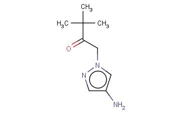 1-(4-AMINO-1H-PYRAZOL-1-YL)-3,3-DIMETHYLBUTAN-2-ONE