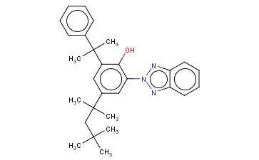 2-(2H-BENZOTRIAZOL-2-YL)-6-(1-METHYL-1-PHENYLETHYL)-4-(1,1,3,3-TETRAMETHYLBUTYL)PHENOL