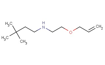 (3,3-DIMETHYLBUTYL)[2-(PROP-2-EN-1-YLOXY)ETHYL]AMINE